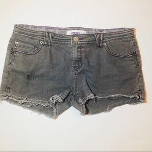O'Neill Gray denim cutoff shorts